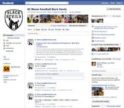 Facebook Fanpage SC Meran Handball